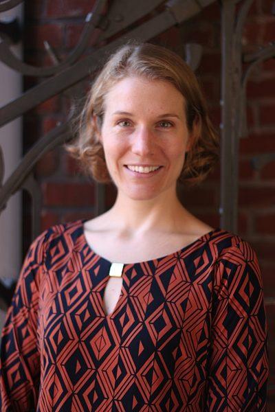 Alison Phillips smiling, headshot